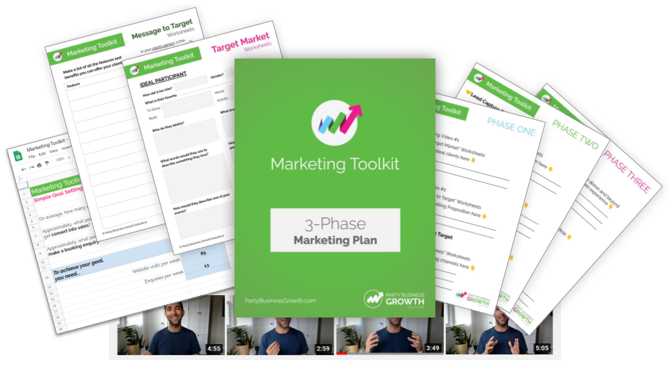 Marketing Toolkit for Party Businesses